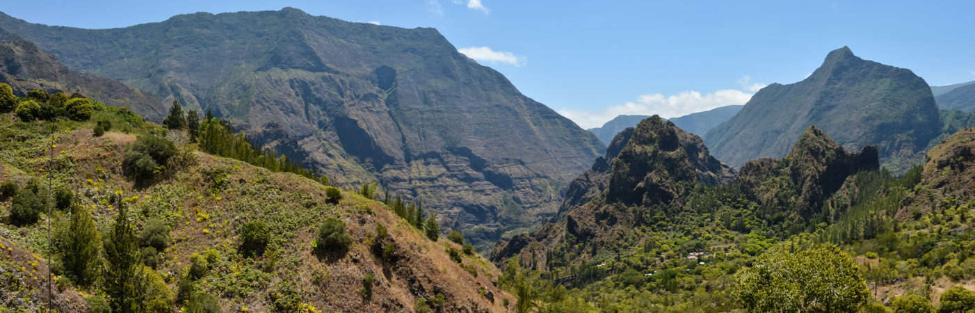 Photo de La Réunion, Cirque de Mafate